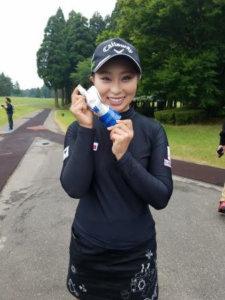 竹内美雪プロゴルファー  タイカ所属のイメージ