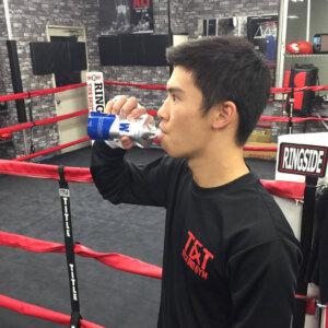 プロボクサー 定常育郎選手のイメージ