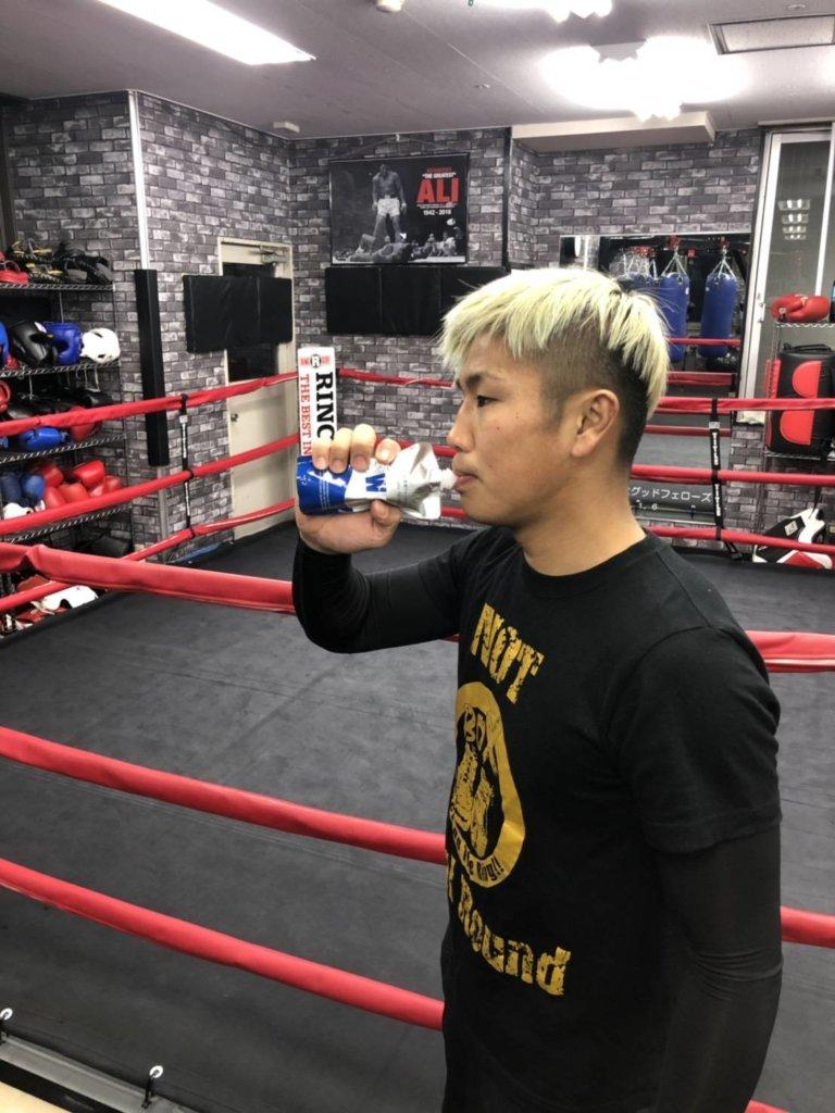 プロボクサー 大坪タツヤ選手のイメージ
