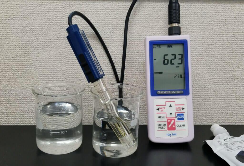 酸化還元電位測定のイメージ