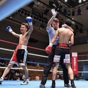 SWATサポーター ボクシング佐宗緋月選手メインマッチで勝利のイメージ