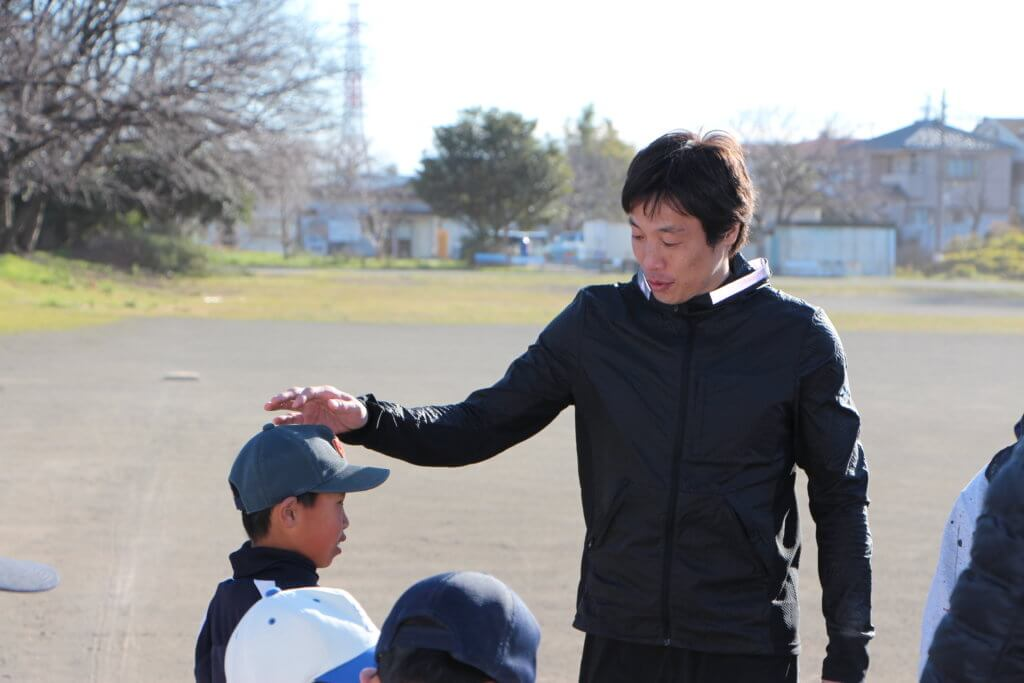セラフィスワットアドバイザー 鈴木尚広さんスポーツ指導のイメージ