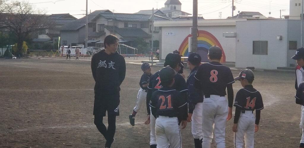 セラフィスワットパートナー鈴木尚広氏 小学校野球教室のイメージ