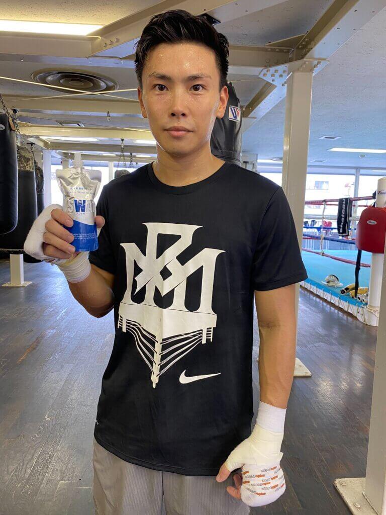 セラフィスワットサポーター加入 帝拳ジム所属プロボクサー岩田翔吉さんのイメージ